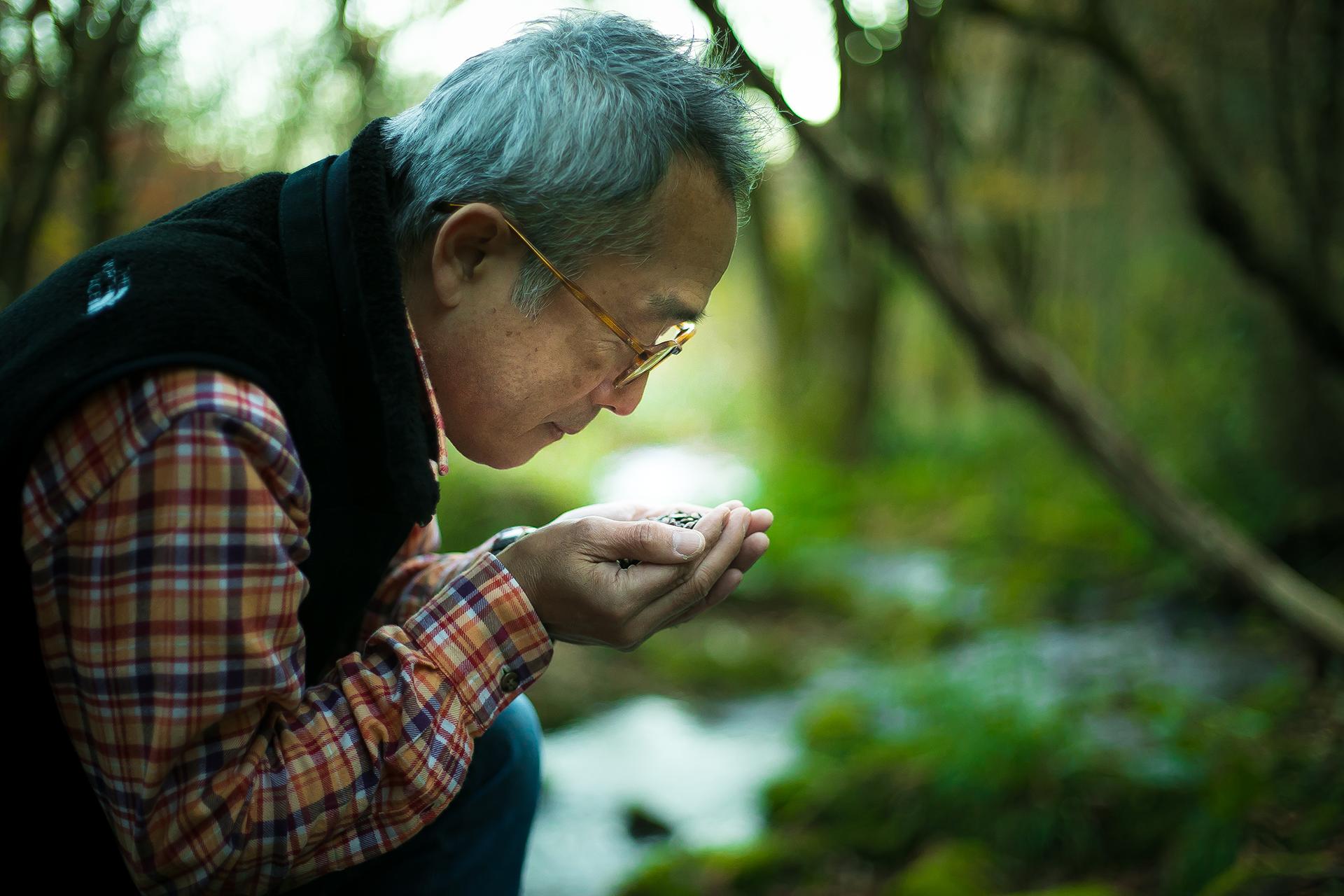 奥大山の水洗い珈琲代表「遠藤 明宏」さん
