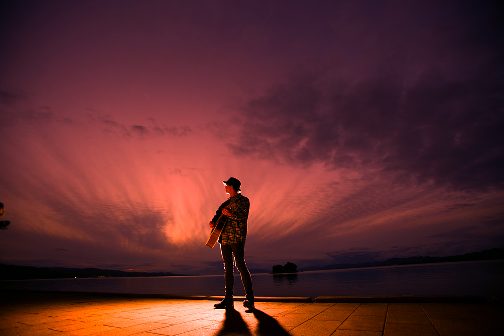 宍道湖とhomme