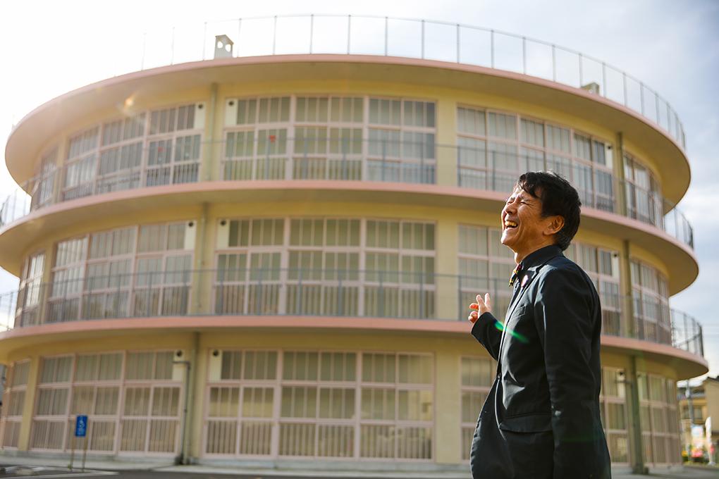 日本で最も古い円形校舎